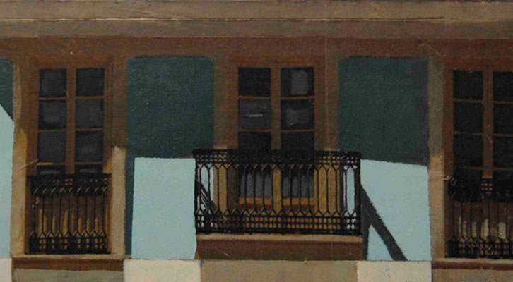 Detalle de una de las obras de José Juan Gimeno. Imagen cortesía de Imprevisual Galería.