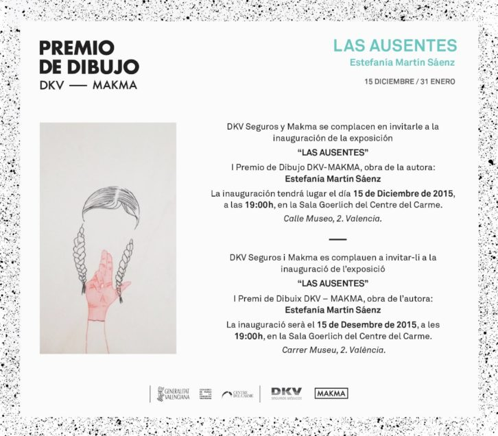 Invitación Premio de Dibujo DKV-MAKMA.