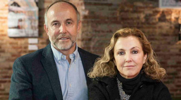 Enrique y Mariangeles Fayos. Fotografía: Fernando Ruiz.