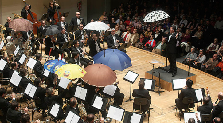 Concierto de Navidad en el Palau de la Música de Valencia. Imagen cortesía del coliseo valenciano.