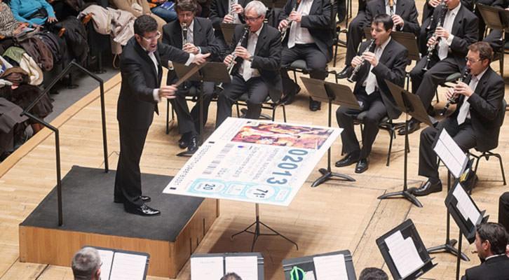 Concierto de Navidad en el Palau de la Música. Imagen cortesía del coliseo valenciano.