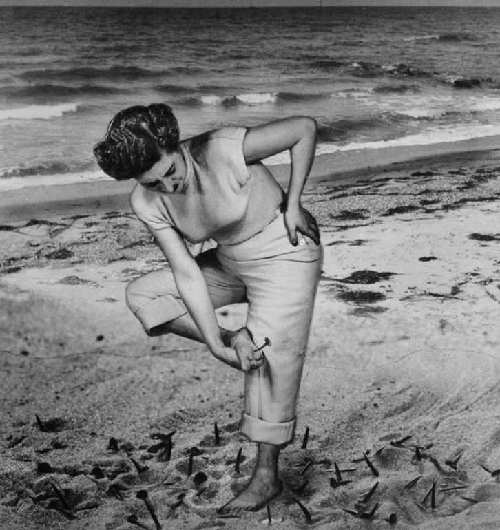 Fotografía de Grete Stern en el Caso de Estudio del IVAM.