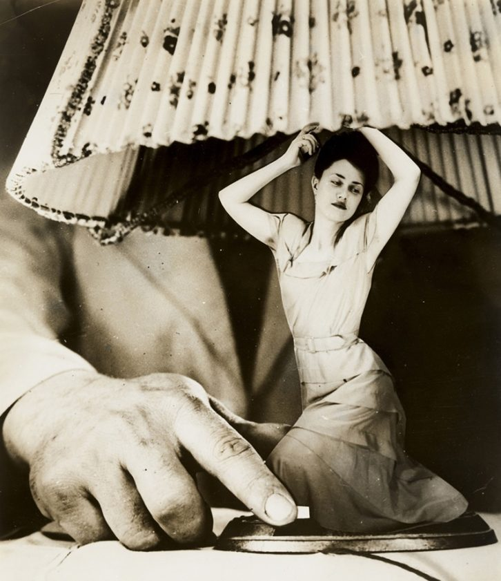 Fotomontaje de Grete Stern en el Caso de Estudio del IVAM.