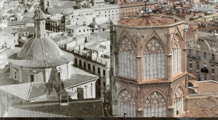 Imagen de la cubierta del libro Valencia desaparecida, cortesía de los autores.