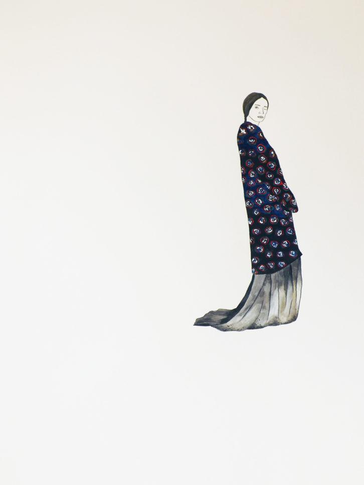 La Bruja del Este, obra de Estefanía Martín Sáenz, ganadora del I Premio de Dibujo DKV-MAKMA. Imagen cortesía de la artista.