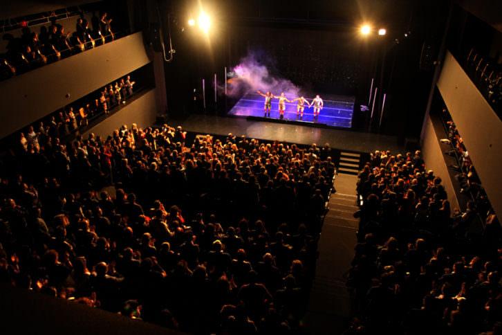 Imagen del teatro de Espai Rambleta.