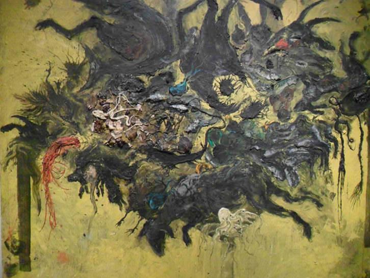 Obra de la Colección Aena, en el Centro del Carmen.