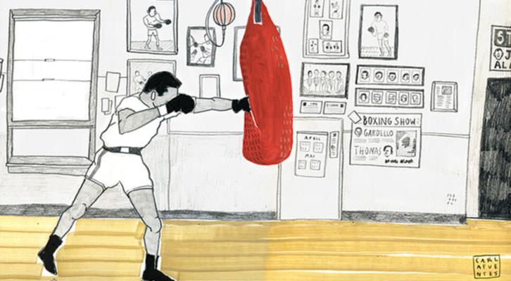 Obra de Carla Fuentes. Imagen cortesía de Pepita Lumier.