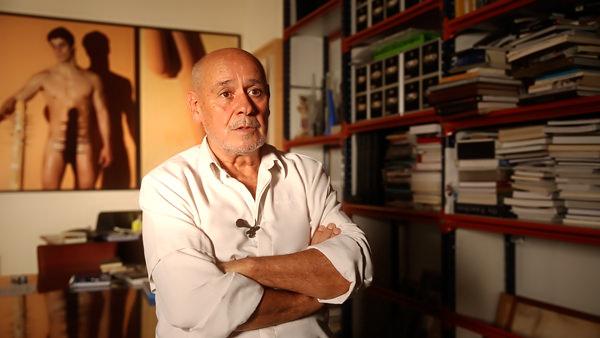 Enrique Belloch, director de 'La Margot. Serio de día, coqueta de noche'. Imagen cortesía del autor.