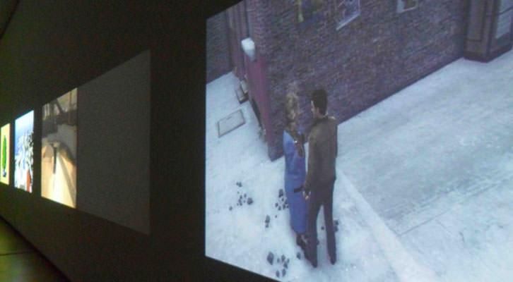 Imágenes de la exposición 'Lo que está en juego', de Harun Farocki, en el IVAM.