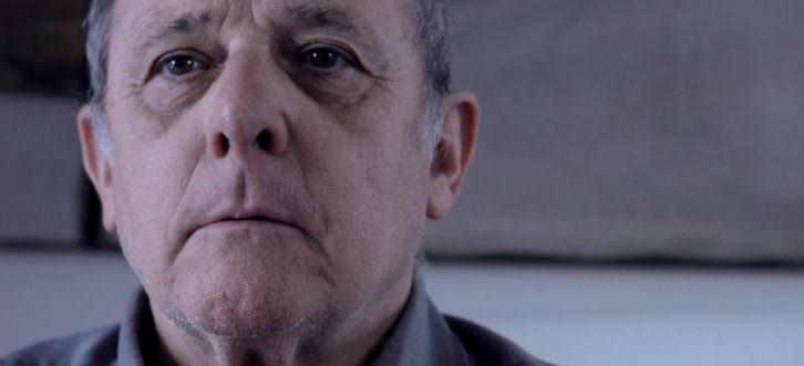 Emilio Gutiérrez Caba en el cortometraje 'Nunca te olvidaré', de Víctor Devesa. Imagen cortesía de SGAE Valencia.