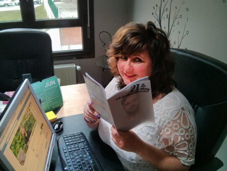 Patricia Peláez, editora de '21 Le Mag'. Imagen cortesía de los editores.