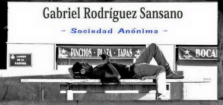 Exposición de Gabriel Rodríguez Sansano. Imagen cortesía de Espacio 40.