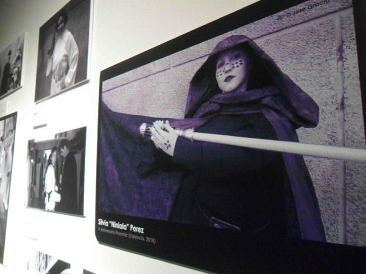Vista de la exposición Prop Art en Sala Lametro.