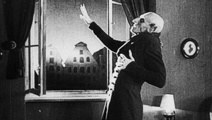 Fotograma de Nosferatu, de Murnau. Imagen cortesía de Sala Russafa.