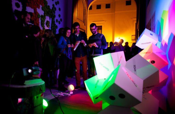 Imagen de uno de los eventos de Valencia Disseny Week 2014. Lilaluchs Photography.
