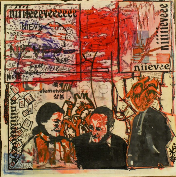 'TODESFUGE GISÈLE', de Eddie (J.Bermúdez). Imagen cortesía del artista.
