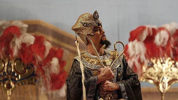 Aida, de Giuseppe Verdi, bajo la dirección musical de Ramón Tebar. Imagen cortesía de Les Arts.