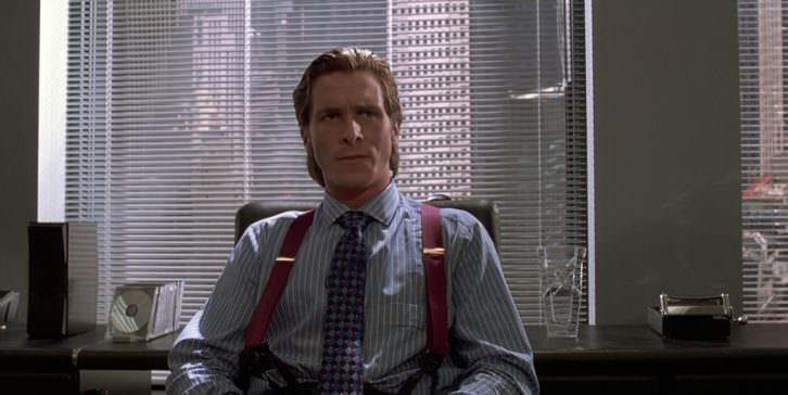 Christian Bale en un fotograma de 'American Psycho', de Mary Harron.