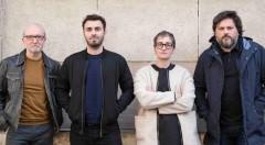 De izquierda a derecha, Paco Sebastián, Álex Marco, Rebeca Plana y Moisés Mañas. Fotografía: Fernando Ruiz.