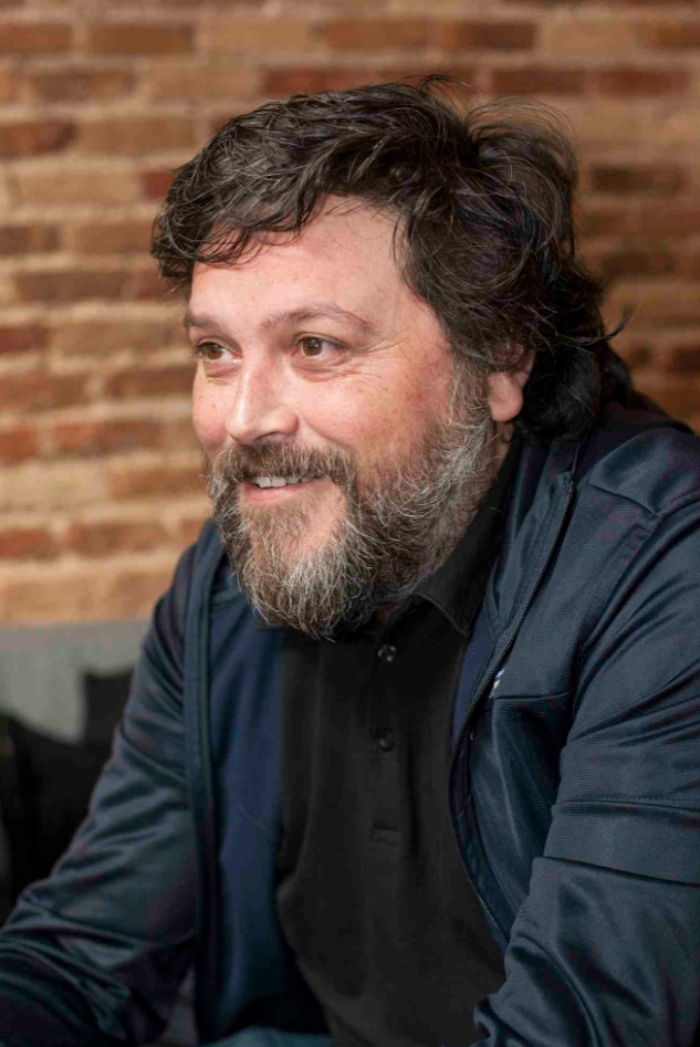 Moisés Mañas, durante la charla. Fotografía: Fernando Ruiz.