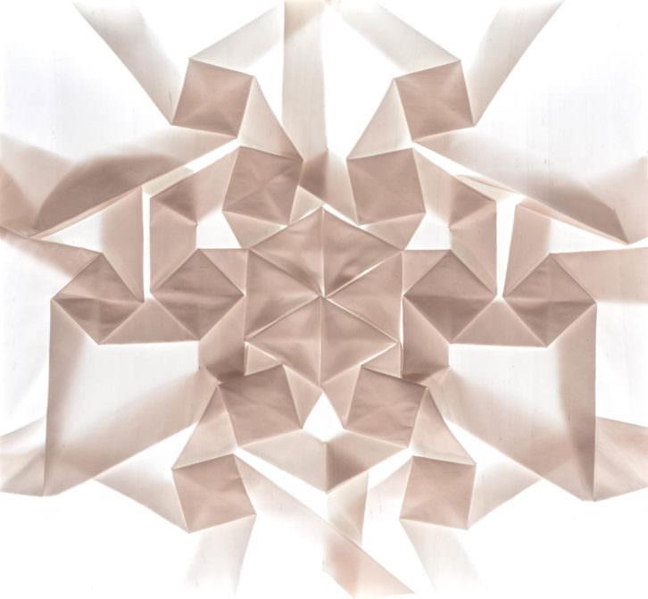 Imagen de la obra 'Copo de Nieve Microscópico', de Pierre Louis Geldenhuys. Fotografía cortesía de Ecomunicam.