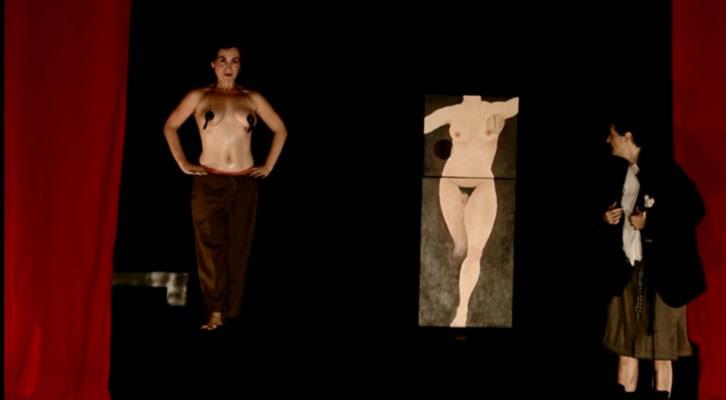 Escena de Cul Kombat, de Patricia Pardo cía.