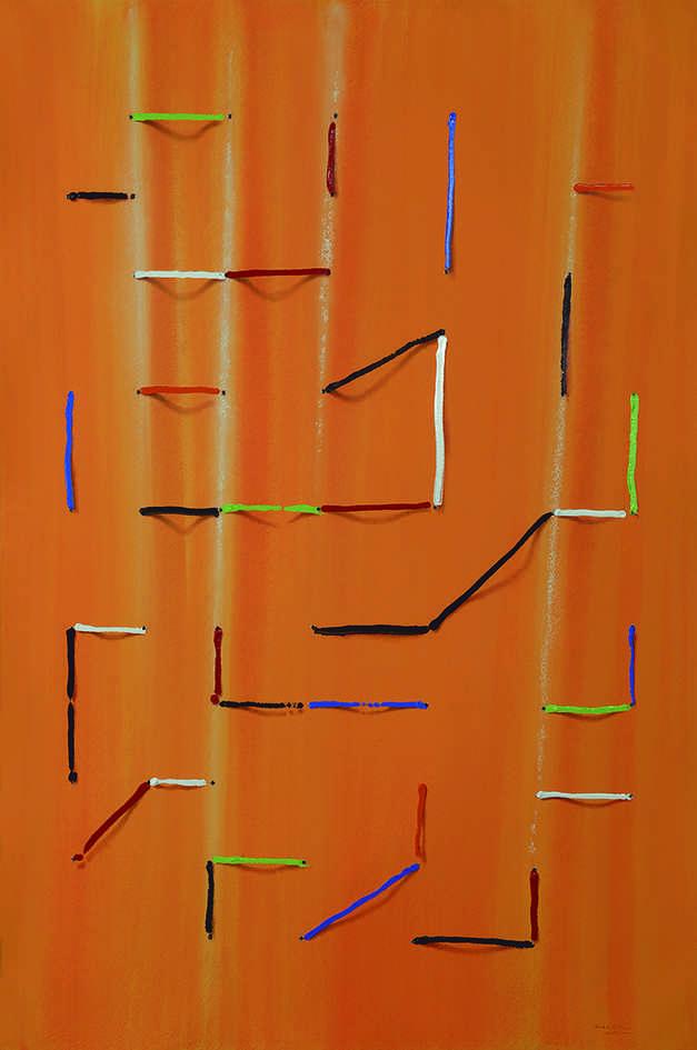 Obra perteneciente a la serie 'Drawings', de Sebastián Nicolau. Fotografía cortesía del artista.