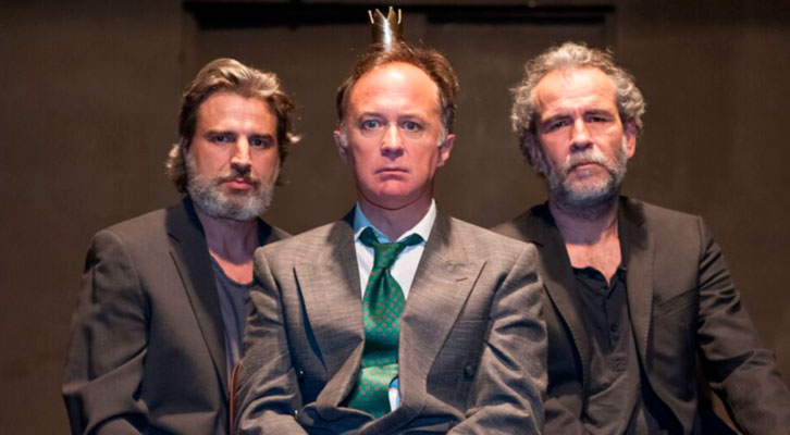 El rey, de Teatro del Barrio. Imagen cortesía de Teatre El Musical.