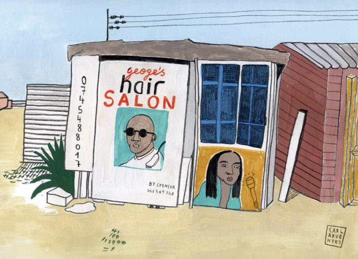 Hair Salon, de Carla Fuentes. Imagen cortesía de Pepita Lumier.