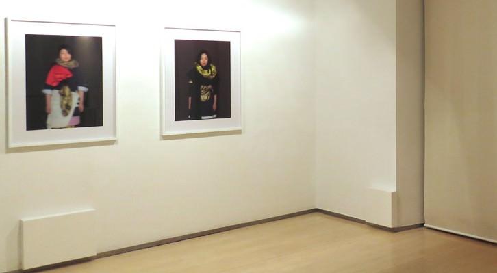 Detalle de la exposición en JosédelaFuente, 2016. Cortesía de la galería.