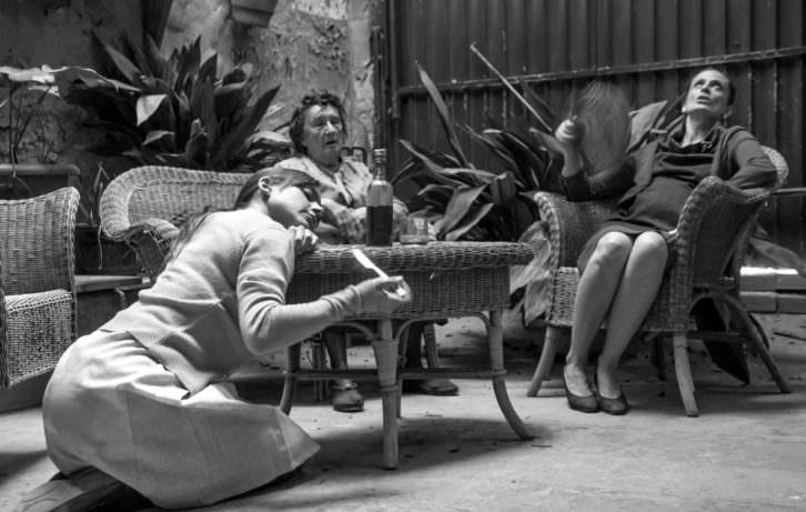 Trilogia sense primavera, de Alejandro Tortajada. Fotografía de Narcís Díez por cortesía de Teatre Micalet.