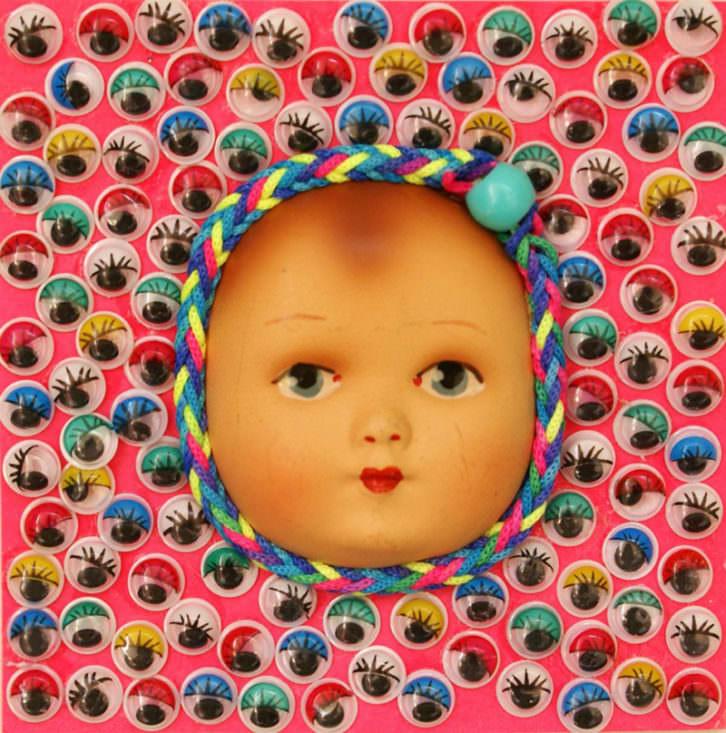 Nina, de Araceli Carrión. Imagen cortesía de Imprevisual Galería.