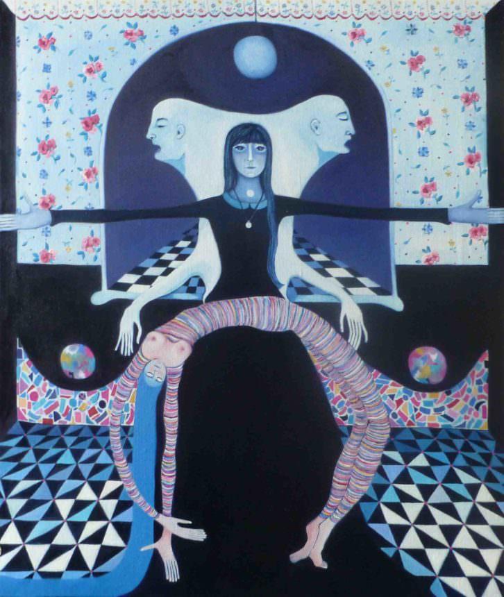Osímoron, de Araceli Carrión. Imagen cortesía de Imprevisual Galería.