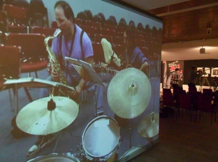Video de la exposición 'Valencia Jazz' en el Centro Cultural Bancaja.