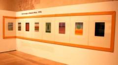 Vista de la serie Homenaje a Gabriel Miró, de Eusebio Sempere. Imagen cortesía del Centro del Carmen.