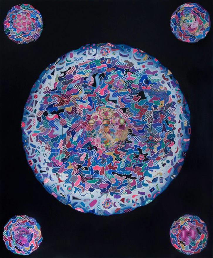 Obra de Araceli Carrión. Imagen cortesía de Imprevisual Galería.