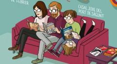 Detalle del cartel de Laura Pacheco del Splash Sagunt Comic Festival.