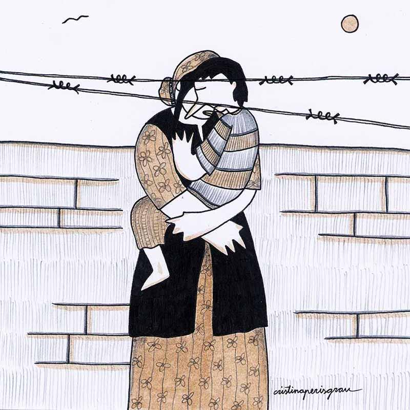 Ilustración de Cristina Peris. Imagen cortesía de APIV.