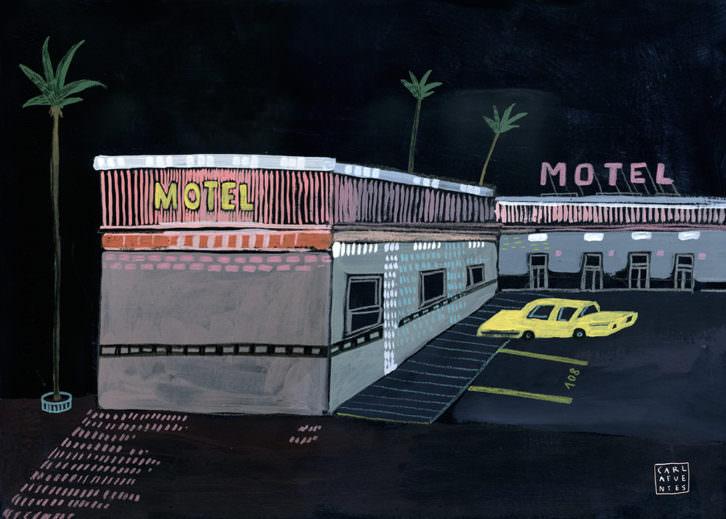 Serie Moteles, de Carla Fuentes. Imagen cortesía de Pepita Lumier.
