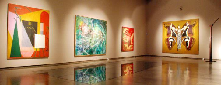 Vista general de la exposición Evolución en el Centro del Carmen.