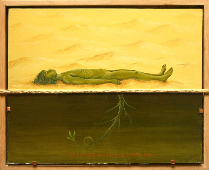Obra de Manuel Martínez Ojea. Imagen cortesía de Imprevisual Galería.