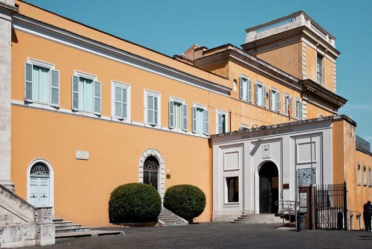 Imagen de la Academia de España en Roma extraída de su web.