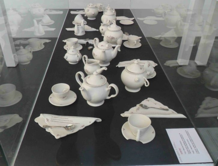 Obra de Alicia Díaz en la exposición 'Once upon a time', en el MuVIM.