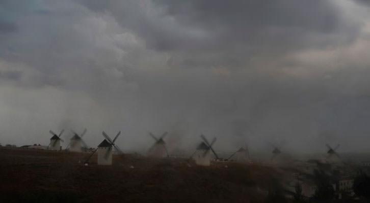 Campo de Criptana. Fotografía de Navia por cortesía del Instituto Cervantes.