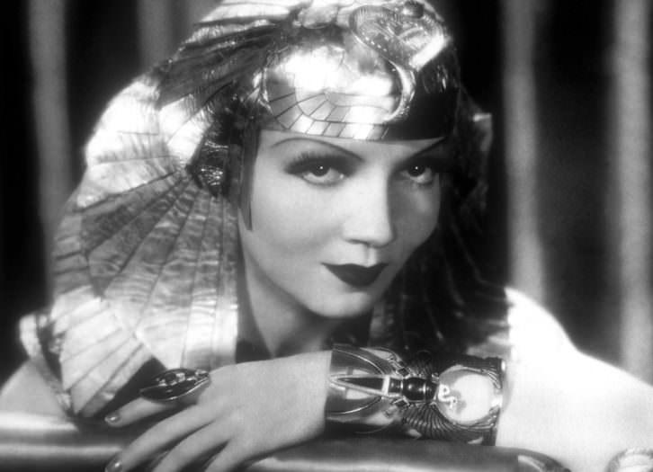 Claudette Colbert en 'Cleopatra', de Cecil B. DeMille. Imagen cortesía de La Filmoteca de Valencia.