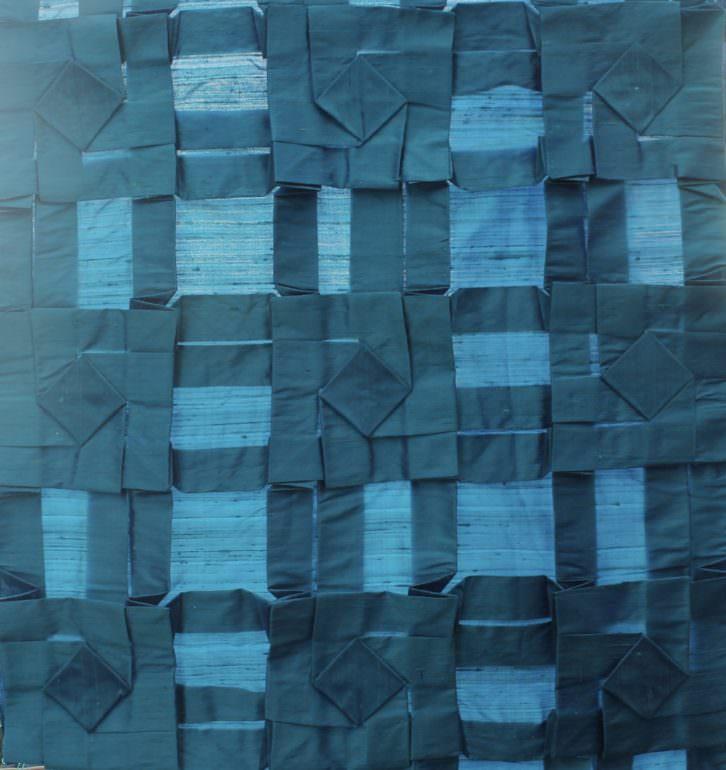 Imagen de la obra 'Cuadrícula I', presente en la exposición. Fotografía cortesía del artista.