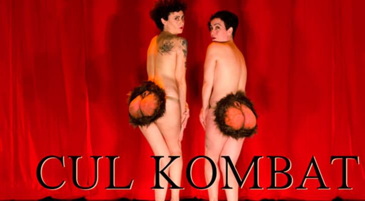 Cartel promocional de 'Cul Kombat'. Imagen cortesía de Sala Ultramar.