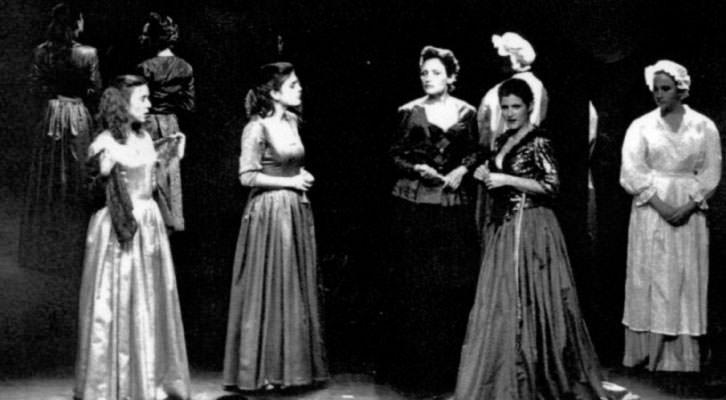 Escena de Les dones de Sade, de Pep Sanchis. Imagen cortesía de La Nau.