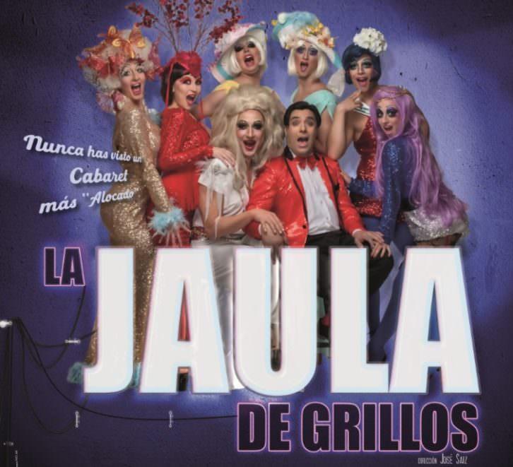 Imagen promocional de 'La jaula de grillos'. Imagen cortesía de Teatro Flumen.